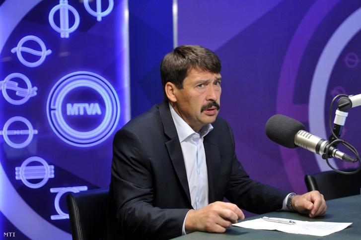 Áder János a Kossuth Rádió egy korábbi műsorában 2017. június 9-én