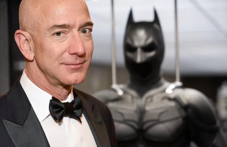 Jeff Bezos és Batman