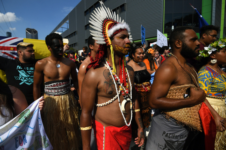 Global Strike 4 Climate résztvevők Brisbaneben