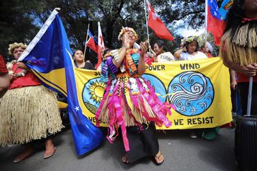Global Strike 4 Climate résztvevők Sydneyben