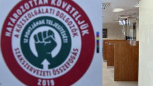 Ismét sztrájkba lépnek a köztisztviselők