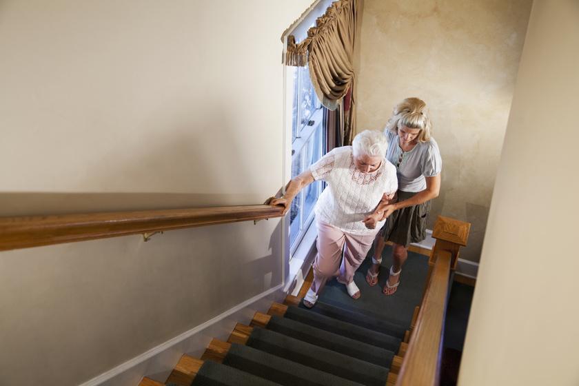 légszmj lépcső