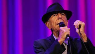 Halála után három évvel új kislemez jelent meg Leonard Cohentől