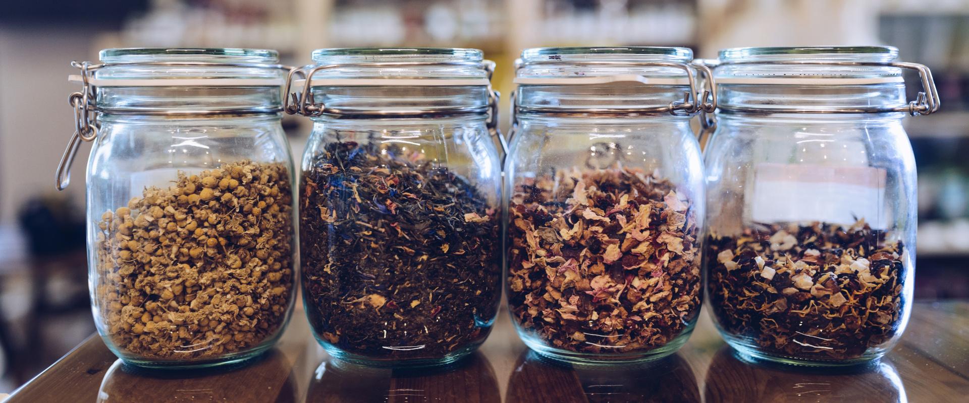 tea tárolás