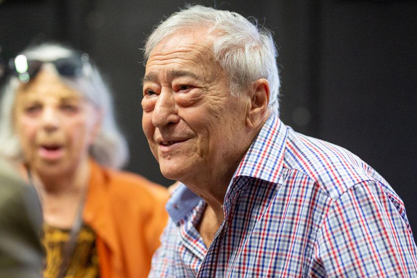 Kalmár Tibor 2019 szeptemberében a Színház- és Filmművészeti Egyetem tiszteletbeli diplomaátadóján.