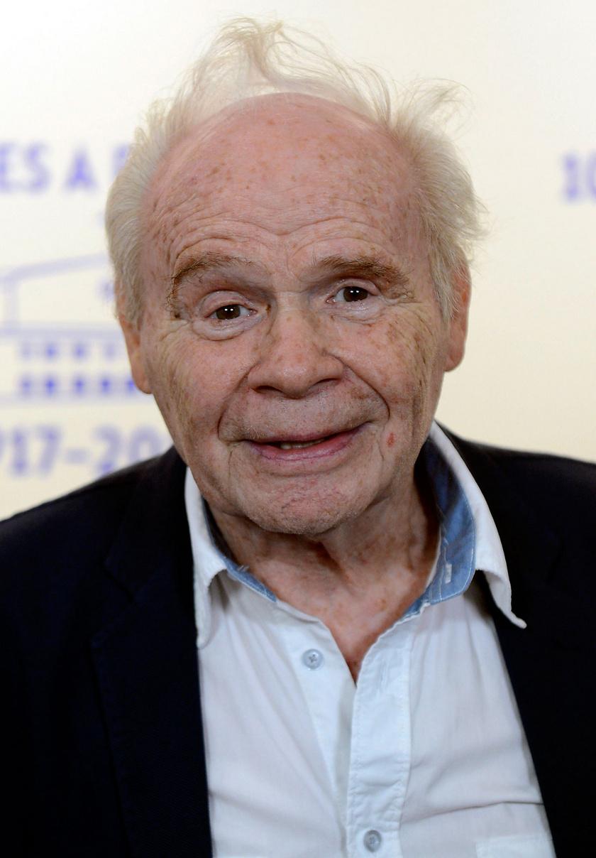 Harkányi Endre 2017 szeptemberében a százéves Filmgyár jubileumi ünnepségén Mafilm Róna utcai telepén.