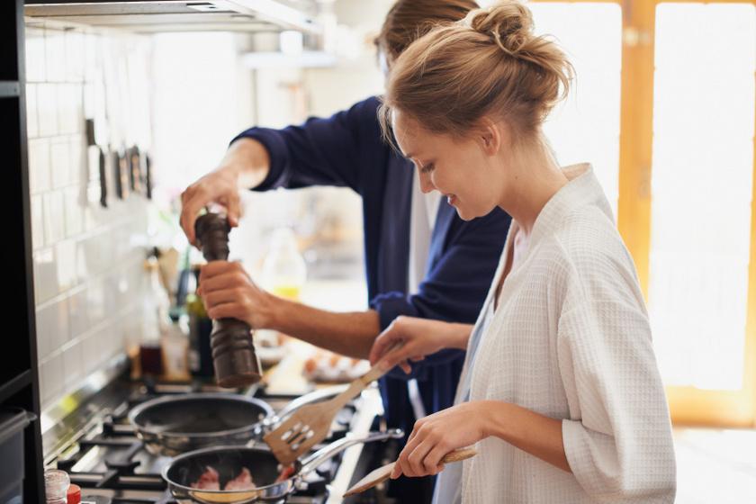 szerelmes főzés
