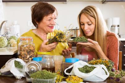 Gyógynövények klimax alatt