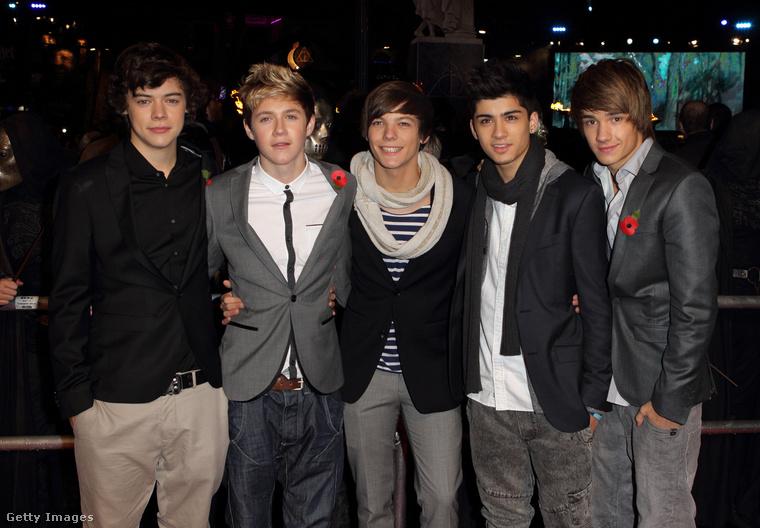 De fiatalok voltak még! 2010 őszén rakták össze a brit X-faktor szólóban jelentkező, de szólóban sikertelen 5 fiataljából a One Direction együttest