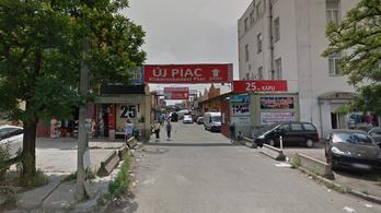 Gázrobbanás történt a Kőbányai úti piacon, ketten megsérültek