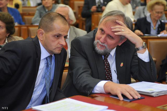 Budai Gyula és Ángyán József, korábbi vidékfejlesztési miniszter
