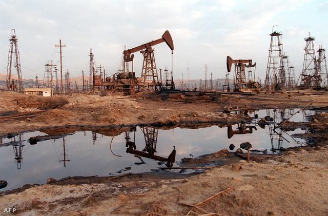 Azerbajdzsán olajhatalom