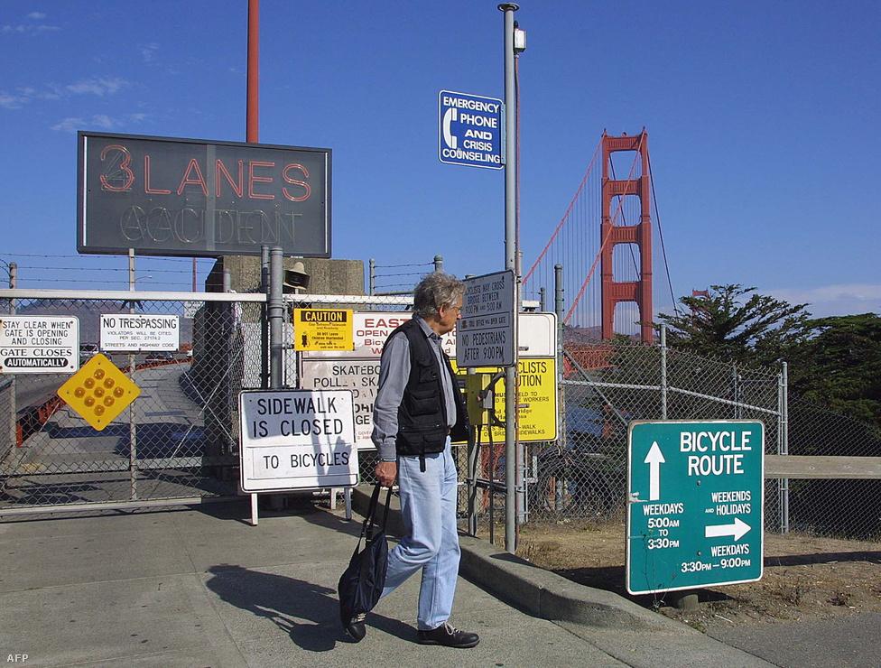 2001. szeptember 11-én, az Egyesült Allamokat ért terrortámadások napján lezárták a hidat.
