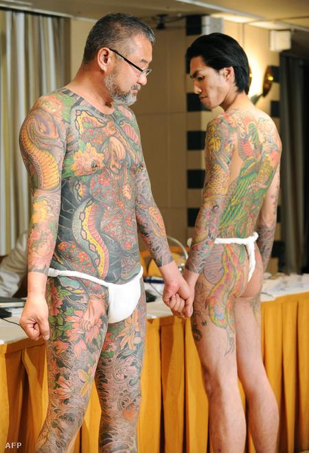 Horiyoshi III japán tetoválómester munkái