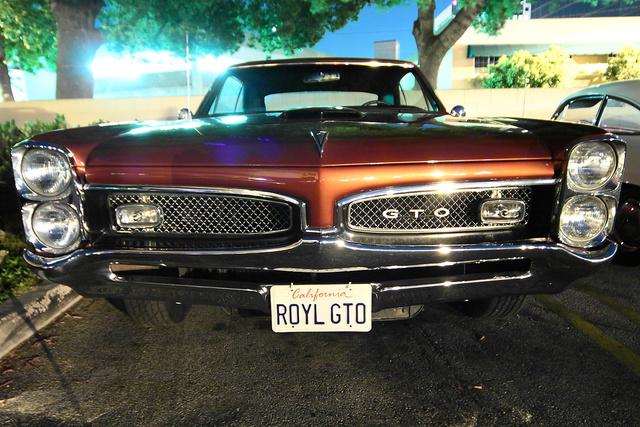Pontiac GTO, király rendszámmal