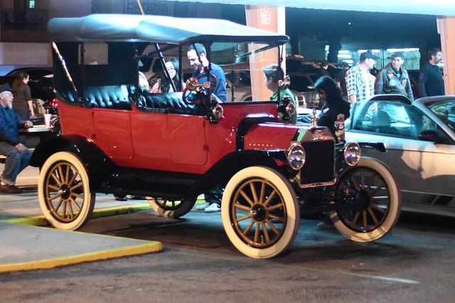 Korai Bádog Böske, azaz Ford T-Modell