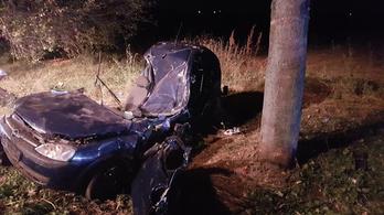 140-nel csapták a fának a négygyerekes ápolónőt szállító autót Mohácsnál