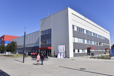 A Vasas SC újjáépített Sterbinszky Amália Kézilabdacsarnoka az ünnepélyes átadás napján 2019.