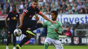 Willi Orbán góljával szerzett vezetést a Leipzig