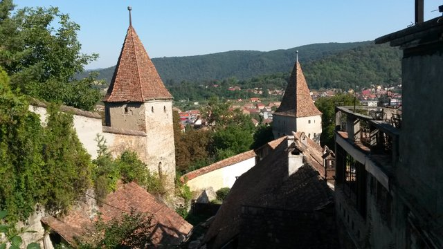 Séta Segesvár középkori utcáin