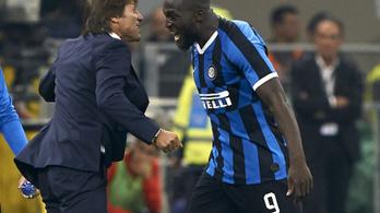 Az Inter nyerte a milánói derbit, veretlenül első a Serie A-ban