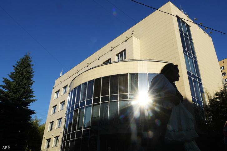 A RUSADA épülete Moszkvában