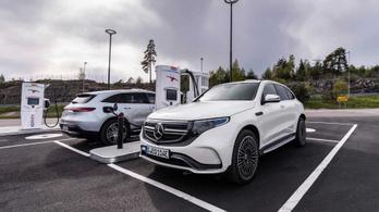 Mercedes: biztonságosabb az EQC, ha kisebb a hatótávja