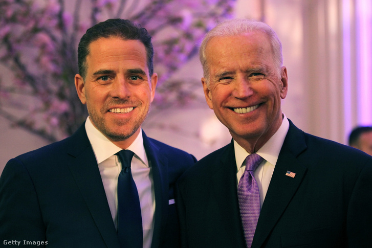 Hunter Biden és Jo Biden 2016-ban
