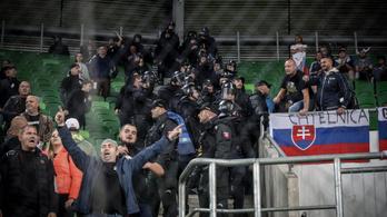 Szlovákiát is zárt kapus meccsre büntetik a budapesti Eb-selejtező miatt