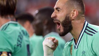 A Real Benzema fejesével a Bilbaót segítette a spanyol bajnokság élére