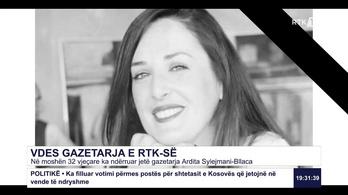Szülés közben halt meg Budapesten egy ismert koszovói riporternő