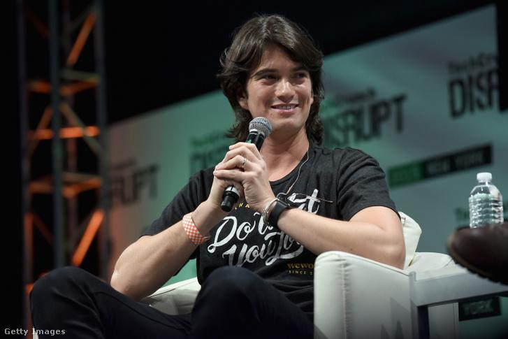 Adam Neumann 2015-ben