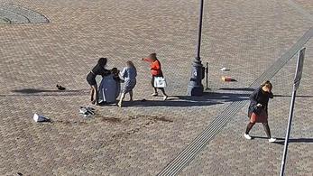 Benzint locsolt több emberre egy nő Fehérváron, de kirúgták az öngyújtót a kezéből