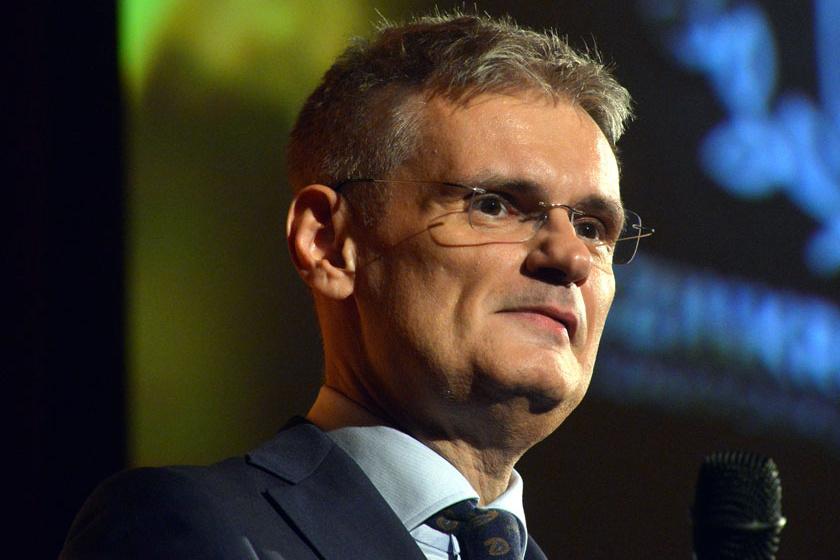 Jáksó László a 2019. szeptember 13-án megrendezett Szinkronikum Díjátadó Gálán.
