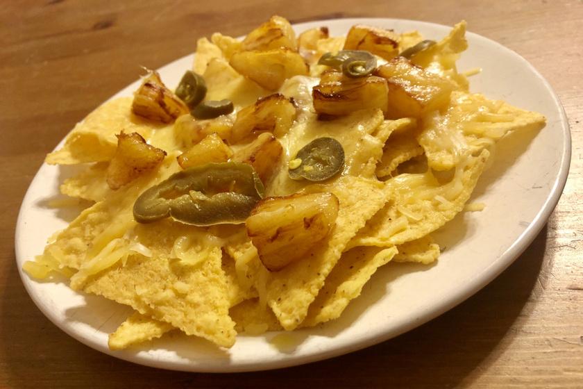 ananászos nachos kicsi