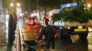 Harminc ember megsérült a Tapa tájfun tombolásában