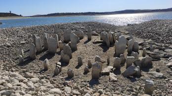 Az extrém szárazság miatt került elő a Stonehenge spanyol testvére