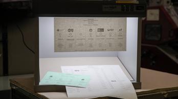 Szigorú biztonsági intézkedések mellett nyomtatják a szavazólapokat