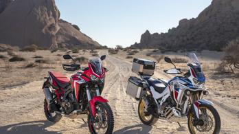 A Honda leleplezte az új Africa Twint