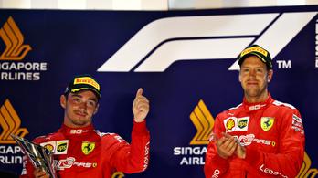 F1: Fagyos a hangulat a Ferrarinál