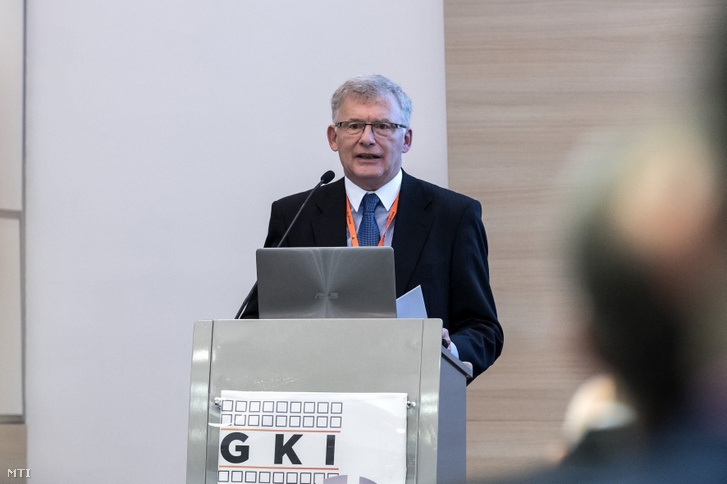 Vértes András, a GKI elnöke