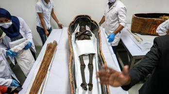 3400 éves múmiák restaurálására készülnek Egyiptomban