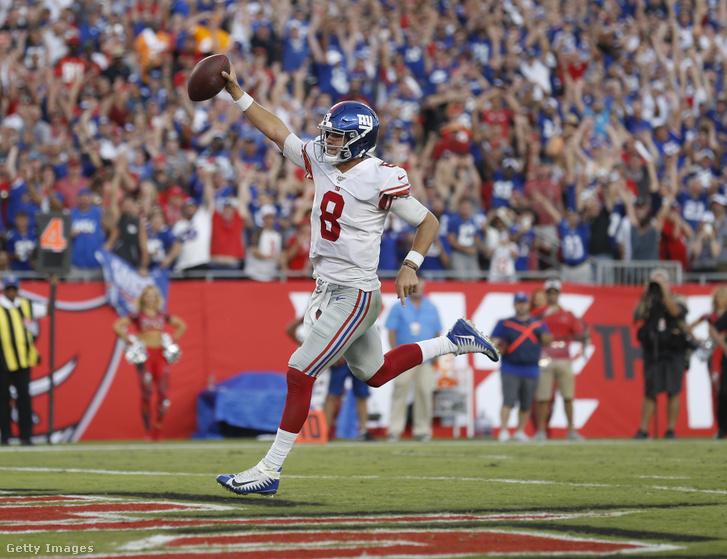 Daniel Jones futott touchdownja a negyedik negyedben