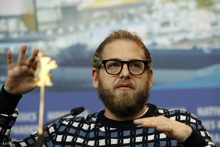 Jonah Hill az idei berlini filmfesztiválon, ahol a Mid90s című rendezését mutatta be.