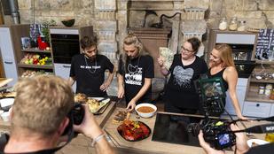 Balázs Andrea és Soma is érkezik Steiner Kristóf most induló főzős műsorába