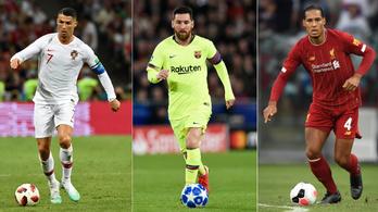 Rossi váratlant húzott, se Messi, se Ronaldo