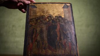 A rezsó felett lógott a reneszánsz mestermű