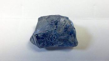 Kivételesen ritka kék gyémántot találtak Dél-Afrikában
