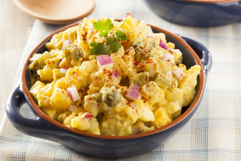 uborkás krumplisaláta kicsi