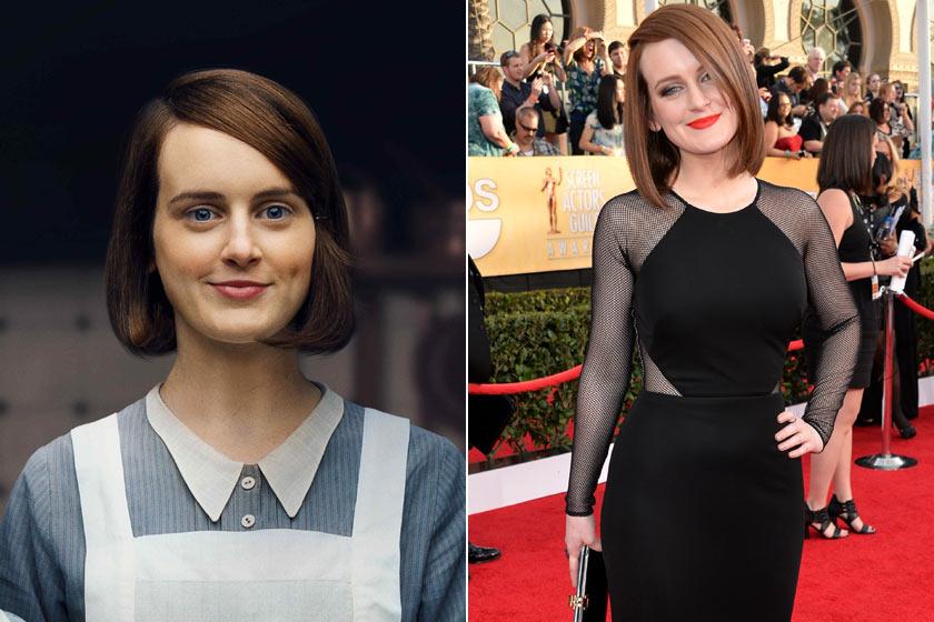 Daisy konyhalányból lett szakácsnő Downtonban. Ki gondolná, hogy a szürke egérkének kinéző Sophie McShera a valóságban ilyen dögös?!